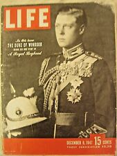 LIFE Dec. 8, 1947 Duke of Windsor, Chris-Craft 1948 models, Mt Palomar, Stassen