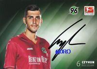 Ceyhun GÜLSELAM + Hannover 96 + Saison 2014/2015 + Original Autogrammkarte +