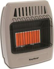 NEW KOZY WORLD KWP392 3 PLAQUE INFRARED LP GAS HEATER 750 FT WALL MOUNT 7006380