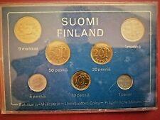 Finland * /Coinage  - 1978  *7- coins *unc coins * Rare
