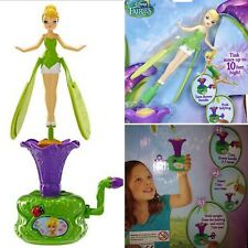 New Old Stock Disney Fairies Take Flight Think Flying Fairy Tinkerbell Doll Toy