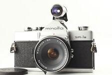 【NEAR MINT】Minolta SR-1s SLR 35mm + W Rokkor-QH 21mm f4 + 21mm Finder Japan #191