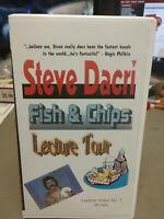 VHS Steve Dacri Fish & Chips Lecture Tour 90 min 2002 Video Tape