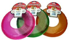 Mammoth Dogsavers Flying Rubber Ring Disc Fetch Dog Toy - Flyer Small
