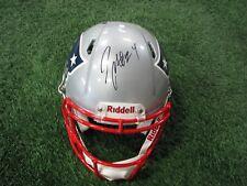 Autographed Darrelle Revis Authentic Speed Helmet