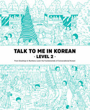 Talk To Me In Korean Level 2 Book Hangul Hangeul for beginners Grammar Textbook
