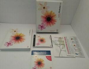 100% ORIGINAL ADOBE ILLUSTRATOR CS2 (2 DISCS) WINDOWS SOFTWARE CD WITH S/N