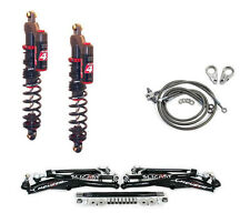 """Houser +1"""" XC Long Travel A-Arms Elka Stage 4 Front Shocks Suspension Kit 450R"""