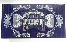 2013 100th ANNIVERSARY AUSTRALIA'S FIRST BANKNOTE Silver Proof Coin & Stamp Set
