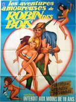 Plakat Kino Les Aventures Liebe Robin Des Holz - 120 X 160 CM