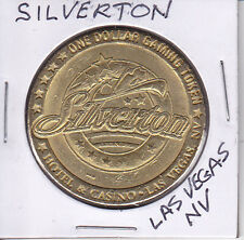 CASINO DOLLAR TOKEN CHIP COIN GAMBLING - SILVERTON - LAS VEGAS, NEVADA