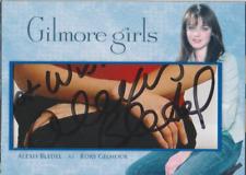 Alexis Bledel authentic custom cut cert autograph auto card GA COA
