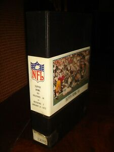 Rare NFL FILMS SUPER BOWL VII 7 - MIAMI DOLPHINS 14 VS REDSKINS 7 - 1973 BETA II
