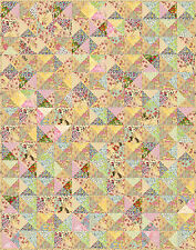 "SHABBY CHICK - 70"" x 58.5"" - Pre-cut Quilt Kit by Quilt-Addicts Single size"