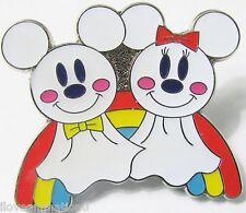 Disney Tokyo Sea Mickey Mouse & Minnie Mouse Teru Teru Bozu Japan  Pin