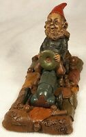 INDY-R 1988~Tom Clark Gnome~Cairn #5033-Blue~Ed #28~Hand Signed~COA ~Story Card