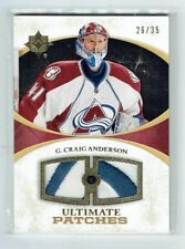 10-11 UD Ultimate  Craig Anderson  /35  Patches