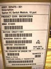 Intel SBCEBFCSW4 10 Port 4Gb Fibre Channel SAN Switch Module New