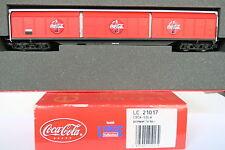 Lemke/ELECTROTREN HO/DC LC 21017 schiebewand VOITURE COCA COLA DB (cq/500-33r2/3)