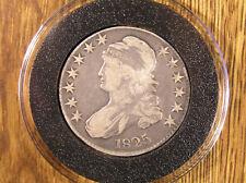 1825 BUST HALF DOLLAR * AirTite Holder
