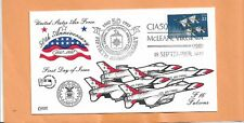 50th ANNIVERSARY OF THE AIR FORCE SEP 18,1997 McLEAN VA  COLLINS F-16 FALCONS***