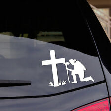 Firefighter Decal Praying Remembrance American Hero Fireman Car Window Sticker
