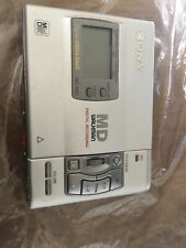 SONY MZ-R50 MINI DISC PLAYER RECORDER IN GREY MADE IN JAPAN A VINTAGE CLASSIC EX