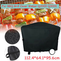 Waterproof Heavy Duty BBQ Cover Garden Patio Gas Barbecue Grill Cover for Weber
