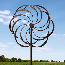 Pinwheel Design Garden Windmill