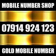 GOLD VIP PLATINUM BUSINESS MOBILE PHONE NUMBER SIM CARD 123