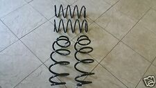 FORD FOCUS MK 1  TDCI TDDI  98-04 TWO FRONT AND TWO REAR COIL SPRINGS LH & RH