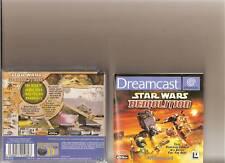 StarWars Demolition Dreamcast selten Traum cast Star Wars
