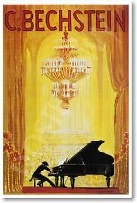 Advertisement Poster for C Bechstein - 1920 - NEW Vintage Reprint POSTER