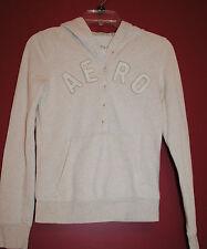 Juniors size S Aeropostale AERO Tan hoodie soft sweatshirt Warm comfy warm