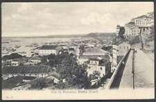 Brazil Postcard Bahia Rua Da Montanha Panoramic 1900
