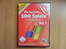 (PC) - DIE BESTEN 100 SPIELE für Windows XP Vol.I - NEUWARE!