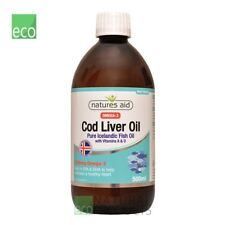 Natures Aid  Omega-3 Cod Liver Oil Liquid 500ml