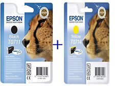 Epson Original T0711 T0714 (T0715) Yellow Ink Cartridge For epson SX DX T 0715