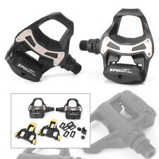 2PCS PD R550 SPD SL Clipless Road Bike Pedals w/ Float Cleats st