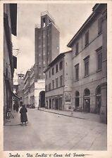 IMOLA (Bologna) - Via Emilia e Casa del Fascio 1949