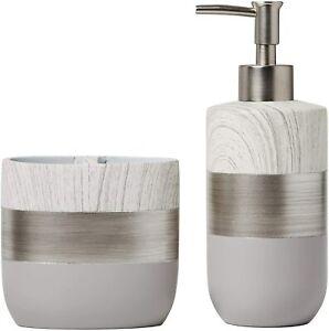 SKL Home by Saturday Knight Ltd. Liselotte Soap Dispenser & Toothbrush Holder