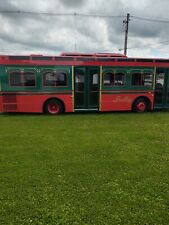 New Listing2002 Thomas Bus Trolley Party Bus Air Conditioning Airport Shuttle