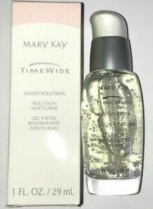 Mary Kay TimeWise Night Solution collagen-enhancing peptides, firming, smoothing