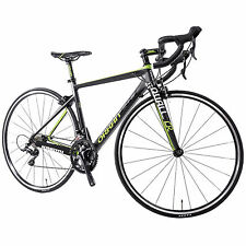 Bike 700C Road18 Speed Full Carbon Fiber Frame Racing Bicycle Shimano Cycling