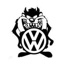 Tasmanian Devil VW logo Vinyl Decal Sticker Silhouette Car Window Glass Wall