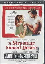 A STREETCAR NAMED DESIRE MARLON BRANDO VIVIEN LEIGH Special Edition NEW 2DVD SET