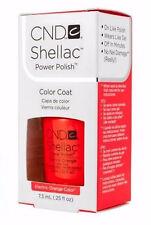 Creative CND Nail Shellac ~ ELECTRIC ORANGE ~ Soak Off Gel Polish .25 oz