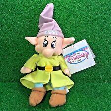 NEW Disney Exclusive Snow White & The SEVEN Dwarfs DOPEY Plush Toy SHIPS FREE