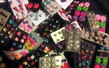 Wholesale Jewelry Lot - New Stud Earrings 100 pairs FREE SHIPPING 💕🌺💕🌺😍