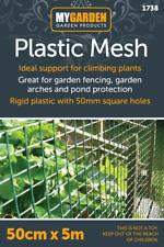 Plastic Mesh Garden Netting Fencing Plant Barrier Chicken Wire 0.5m or 1m x 5m